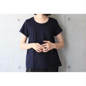 【FilMelange】ANNIE ポケットTシャツ / ネイビー
