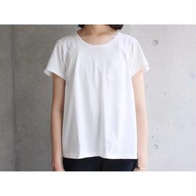 【FilMelange】ANNIE ポケットTシャツ / ホワイト