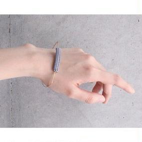 【CHIKAKO YAJIMA】トライアングルブレス / 別注カラー ライトブルー