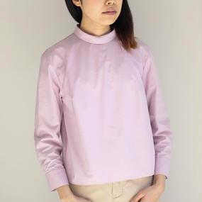 【jens / イェンス】プルオーバーシャツ / ピンク