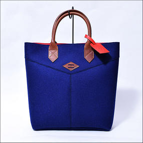 LEON FLAM(レオンフラム) SANTIAGO SHOPPING BAG BLUE
