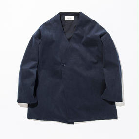 UNITUS(ユナイタス) SS17 Shirts Cardigan (Fake Suede) Navy