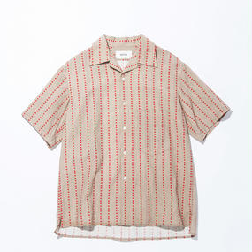UNITUS(ユナイタス) SS17 Aloha Shirts Red Stripe