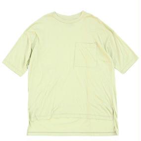 Big Pocket Tee - Tencel Cotton / Lt.Green