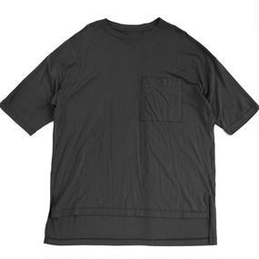 Big Pocket Tee - Tencel Cotton / Black