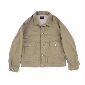 Big Jean Jacket - Tencel Denim / Khaki