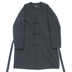 Flog Button Wind Robe - Tencel Slab Gabardine