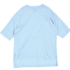 Big Pocket Tee - Tencel Cotton / Sky