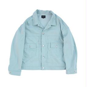 Big Jean Jacket - Tencel Denim / Mint