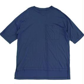 Big Pocket Tee - Tencel Cotton / Navy
