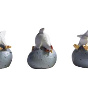 3羽のひな鶏セット
