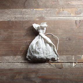 ずっと使える。京都の麻のお茶っ葉袋