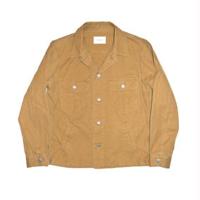 Military Ventile Jacket. -Camel