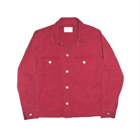 Military Ventile Jacket. -Red-