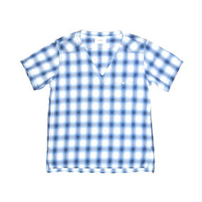 Western Flannel Check S/S Shirt.