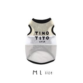 M-L バイカラータンクトップ TT101018-2