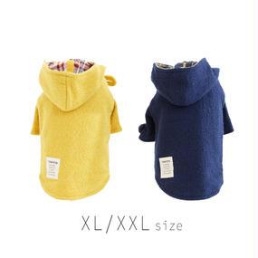 XL-XXL  ダッフルコート(Yellow / Navy) TT102021-3