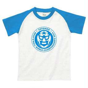 "10TONES ""TONE魂ストロングスタイルTシャツ""(Blue)"