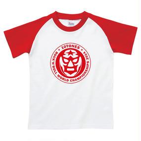 "10TONES ""TONE魂ストロングスタイルTシャツ""(Red)"