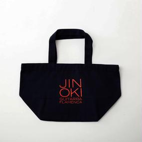 """沖仁""""JIN OKI ランチトートバッグ""""(ネイビー×レッド)"""