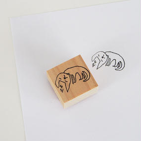 息子(小2)が描いた愛猫のスタンプ