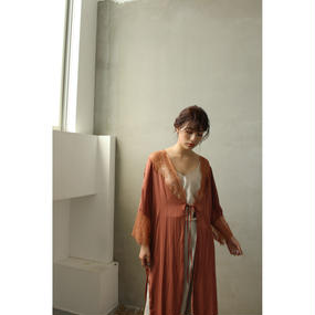Romantic Lace Satin Gown (ot068)