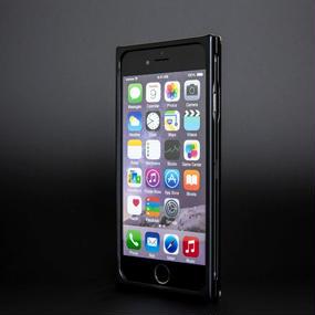 【iPhone6/6S用:マッドブラック】ジュラルミン削り出しケース