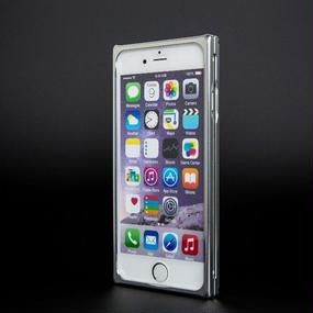 【iPhone6/6S用:シルバー】ジュラルミン削り出しケース