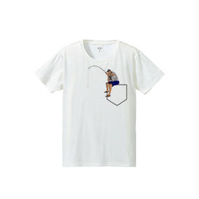 Pocket fishing(4.7oz T-shirt)