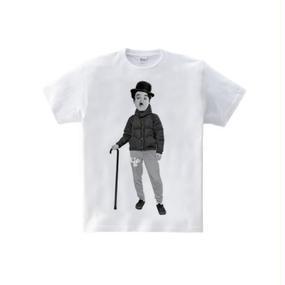 アウトドア・チャップリン モノ(5.6oz Tシャツ)