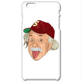 アルベルト・アインシュタイン・アウトドア(iPhone6ケース)(iPhone5ケース)