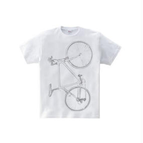 Colorless bike(5.6oz Tシャツ)