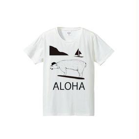 ALOHA BEAR(4.7oz T-shirt)