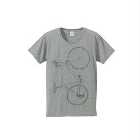 Colorless bike(4.7oz T-shirt gray)
