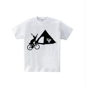 シカキャンプ(5.6oz Tシャツ)