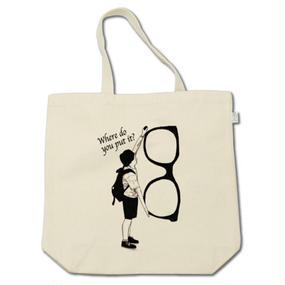 Where do you put it ?(tote bag)
