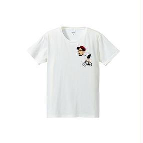 YUJI CYCLING c(4.7oz T-shirt)
