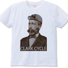 CLARK CYCLE(Tシャツ white・ash)