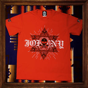 2016 JOHNNY Tee【FIBER DRY MESH】RED
