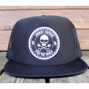 JOHNNY MESH CAP 【BLACK/JOHNNY666】
