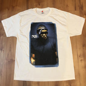 Nas - Stamp Smudge Tシャツ