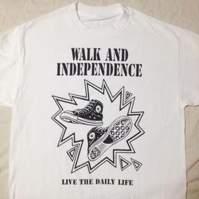 "w&i ""Daily  Life"" T-shirt Front Print ※お支払いは銀行振込を選択して下さい。"