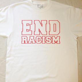 """Aims to end "" T-shirt   short sleeve ※お支払いは銀行振込を選択して下さい"
