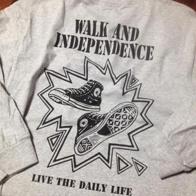 "w&i ""Daily  Life ""Long sleeve T-shirt Back Print  ※お支払いは銀行振込を選択して下さい。"