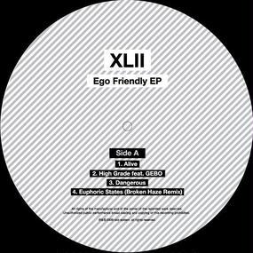"""XLII - Ego Friendly EP 12"""" Vinyl"""