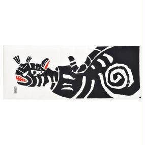注染手ぬぐい「張り子の虎」小倉染色図案工房