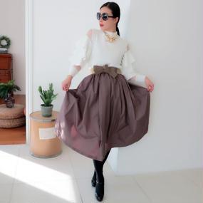ドレススカート【ベージュ】