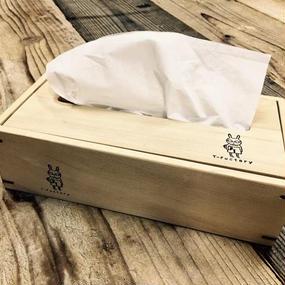 青森ひばの箱  ティッシュケース