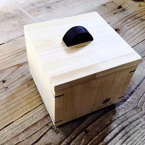 青森ひばの箱  キューブ