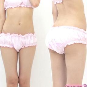 フリルぱんつ単品 サイズ:M 色:ピンク